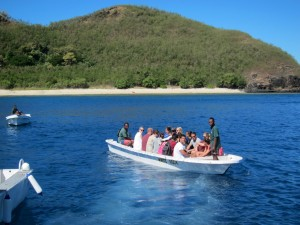 Mantaray Island Resort Boat