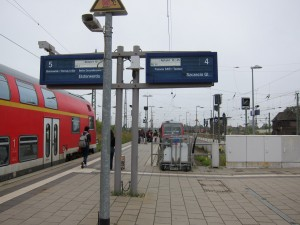 Changing Trains in Angermünde