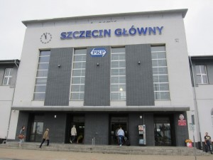Train Station in Szczecin