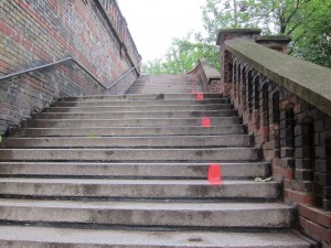 Szczecin Tourist Route - Up and Down Stairs