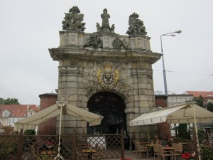 A Prussian Gate, now a restaurant