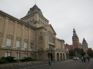 Szczecin's Government Building Row