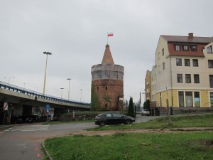 A Gaurd Tower - the oldest standing building in Szczecin
