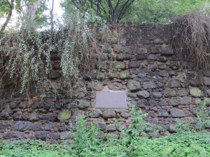 Part of the original city wall