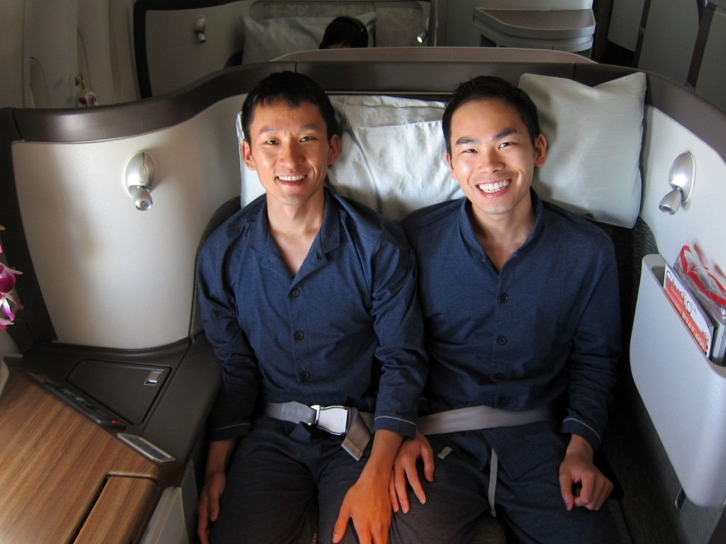 Cathay Pacific First Class as a Couple