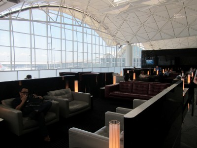 Cathay Pacific The Wing Lounge Hong Kong