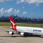 Qantas A380 First Class Sydney