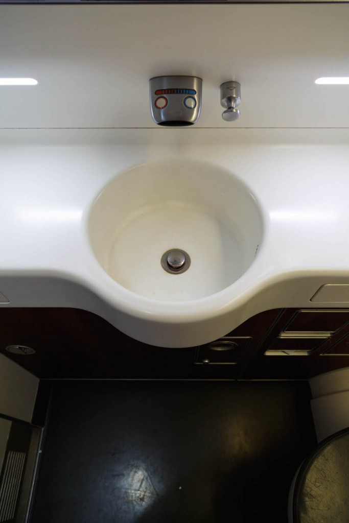 Qantas A380 First Class Lavatory