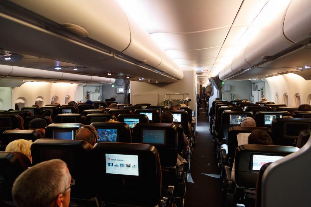 Qantas A380 Economy Class