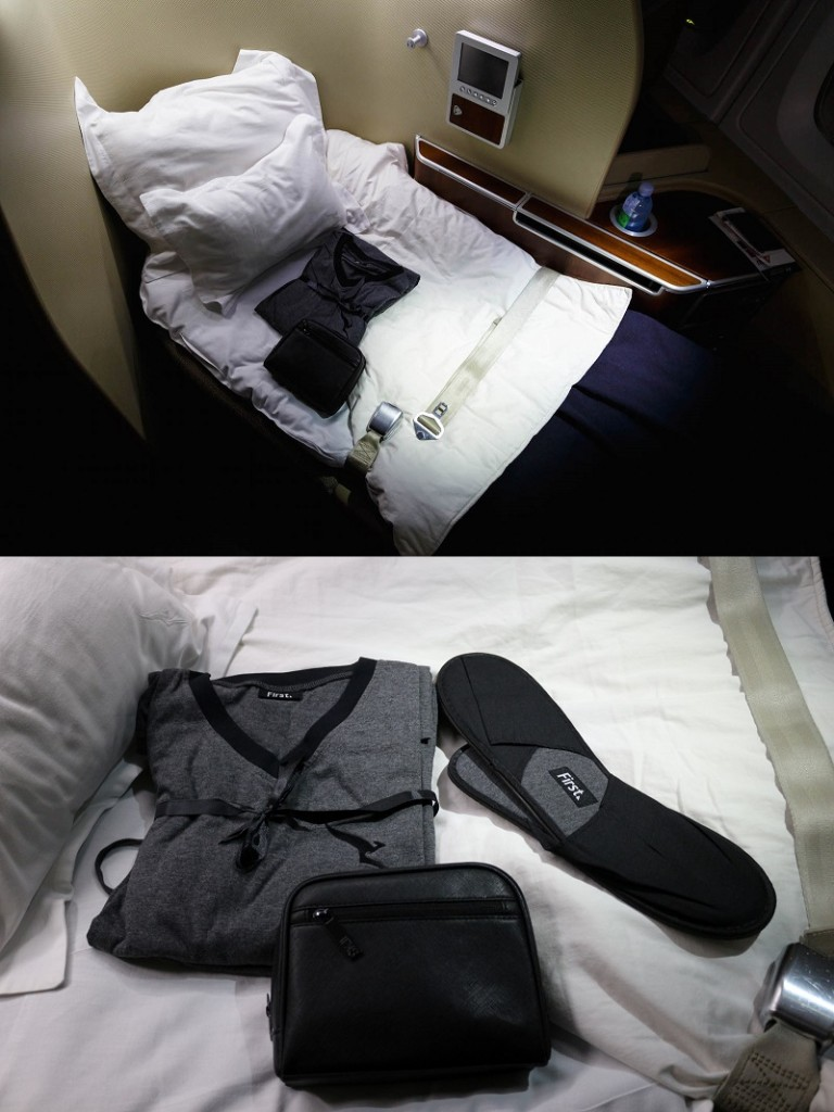 Qantas A380 First Class Bed